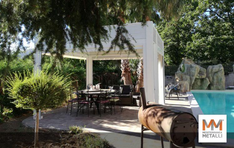 Gazebo a bordo piscina: guarda i nuovi lavori