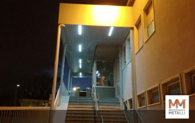 Tettoia portineria Denso Avellino: guarda i nuovi lavori