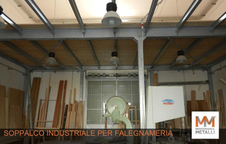 Soppalco industriale: guarda i nuovi lavori