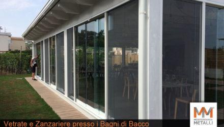 Vetrate panoramiche e zanzariere, Bagni di Bacco: guarda i nuovi lavori