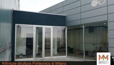Rifiniture struttura al Politecnico di Milano: guarda i nuovi lavori