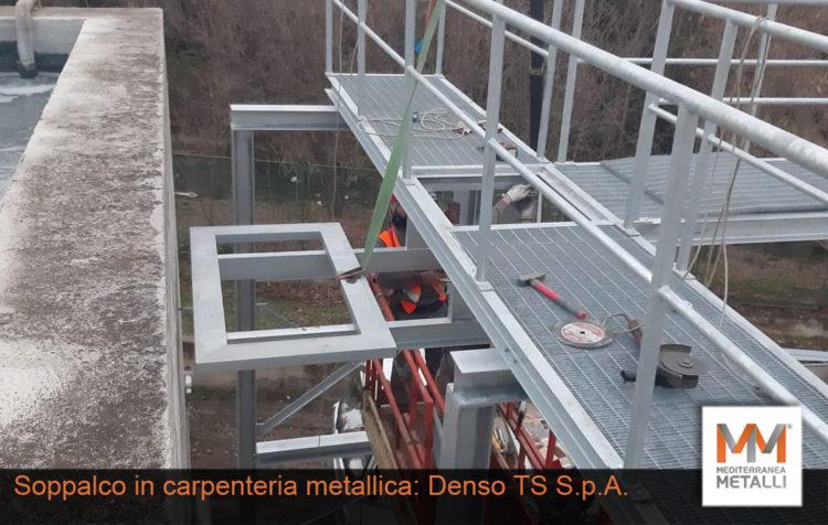 Soppalco in carpenteria metallica per DENSO: guarda i nuovi lavori