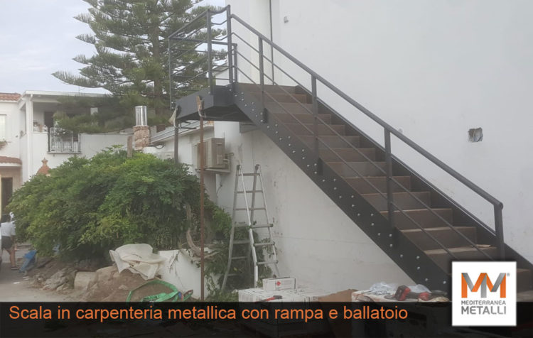 Scala esterna con rampa e ballatoio: guarda i nuovi lavori